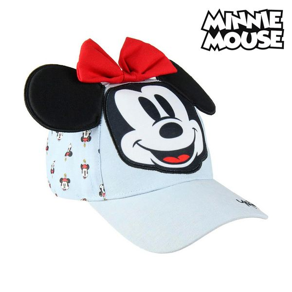 Boné Infantil 3d Minnie Mouse 75313 Azul claro (53 Cm)