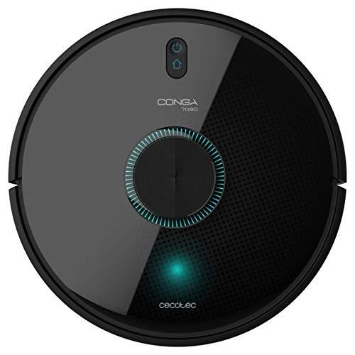 Robot Aspirador Cecotec Conga 7090 IA 10000 PA Wifi 6400 mAh Preto