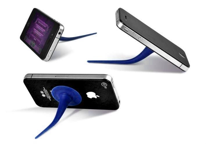 Suporte para Smartphone em forma de Cauda