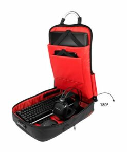"""Mochila Antirroubo com USB e Compartimento para Tablet e Portátil Mars Gaming MB2 17"""""""