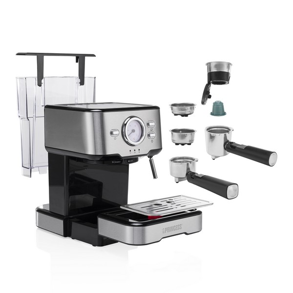 Máquina de Café Expresso Manual Princess 249412 1,5 l 1100W