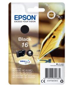 Tinteiro de Tinta Original Epson T1621 Preto