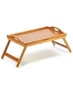 Tabuleiro de Cama Dobrável Quttin Bambu (50 X 30 cm)