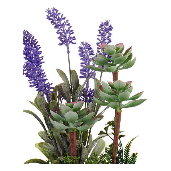 Planta Decorativa Plástico Cimento (14 x 29 x 21 cm)