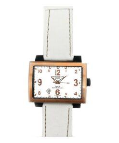 Relógio feminino Montres de Luxe 091691WH-GOLD (42 mm)