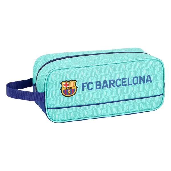Bolsa para Sapatos de Viagem F.C. Barcelona Turquesa Poliéster