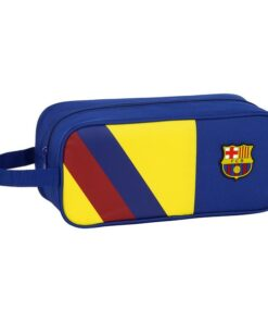 Bolsa para Sapatos de Viagem F.C. Barcelona Azul Poliéster