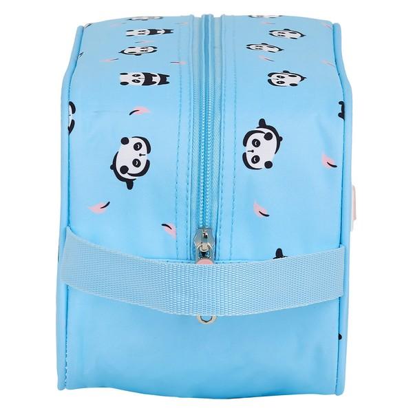 Bolsa para Sapatos de Viagem Moos Poliéster Azul Claro