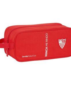 Bolsa para Sapatos de Viagem Sevilla Fútbol Club Vermelho Poliéster