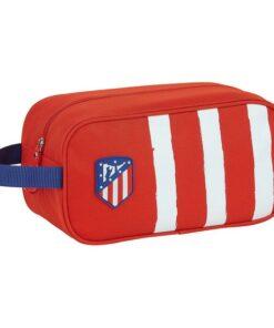 Bolsa para Sapatos de Viagem Atlético Madrid Azul Branco Vermelho Poliéster