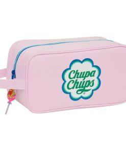 Bolsa para Sapatos de Viagem Chupa Chups Cor de Rosa Poliéster