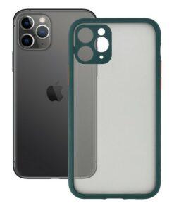 Capa para Telemóvel iPhone 11 KSIX Duo Soft Verde