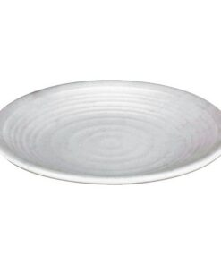 Prato para Sobremesas TROYA Porcelana Branca (ø 20 cm)