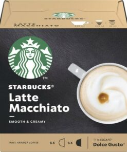 Cápsulas de café Starbucks Latte Macchiato (12 uds)