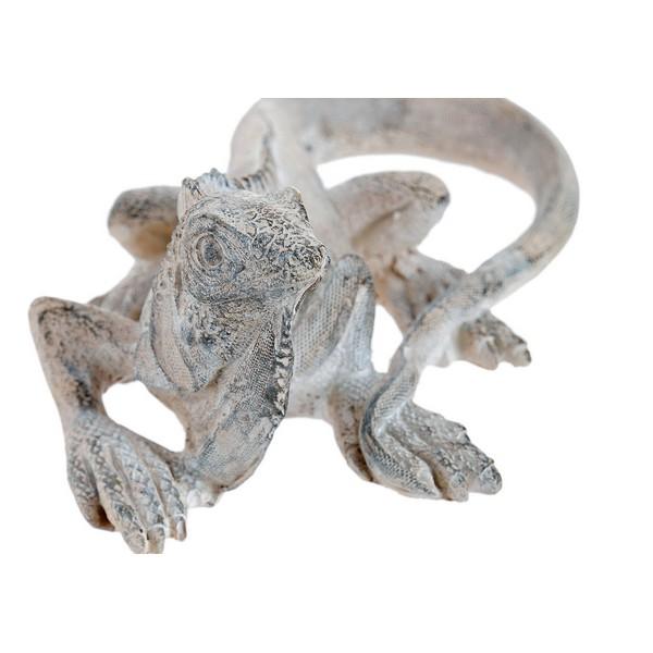 Figura Decorativa Dekodonia Resina Pedra Iguana (22 x 12 x 8 cm)