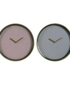 Relógio de Parede Dekodonia NEW HYGGE Metal Cristal (2 pcs)