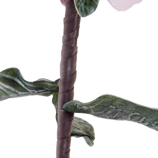 Flor Decorativa Dekodonia Cor de Rosa EVA (Acetato Vinílico Etileno) (2 pcs) (15 x 124 cm)
