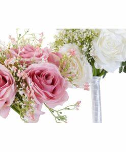Ramalhetes Dekodonia PVC Plástico Com tecido Rosas (2 pcs)