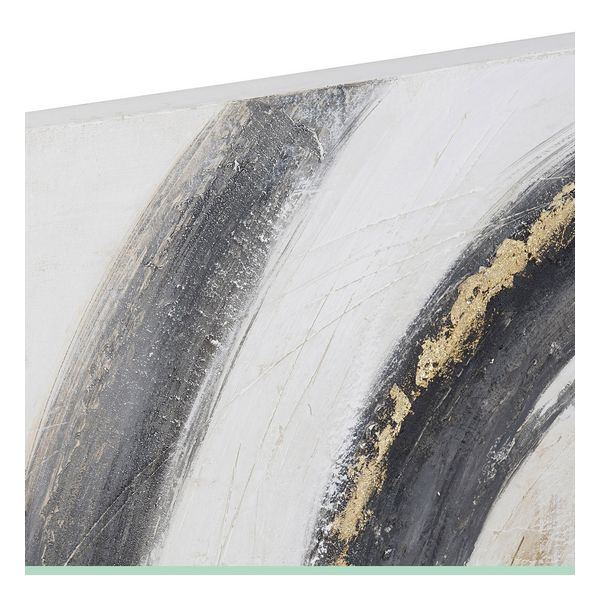 Pintura Dekodonia Abstrato Pinheiro Tela (2 pcs) (100 x 3 x 100 cm)