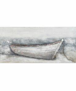 Pintura Dekodonia Barco Pintado à mão (150 x 3 x 70 cm)