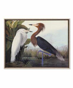 Pintura Dekodonia Emoldurada Pássaros (105 x 3 x 80 cm)