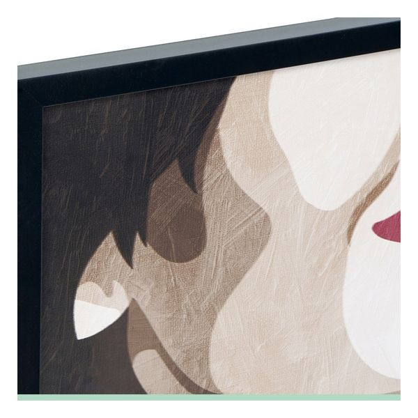Pintura Dekodonia Mulher Batom (2 pcs) (73 x 3 x 73 cm)