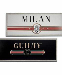 Pintura Guilty - Milan MDF (2 x 46 x 121 cm)
