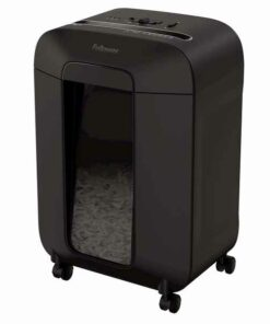 Trituradora de Papel Micro-Corte Fellowes LX85 19 L 4 x 40 mm 12 Folhas Preto