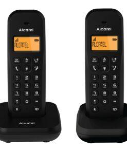 Telefone sem fios Alcatel E155 DUO Preto