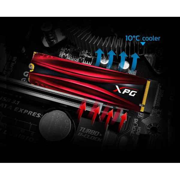 Disco Duro Adata GAMMIX S11 PRO 512 GB SSD m.2