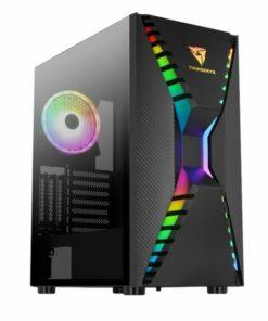 Caixa Semitorre ATX Aerocool Cronus LED RGB