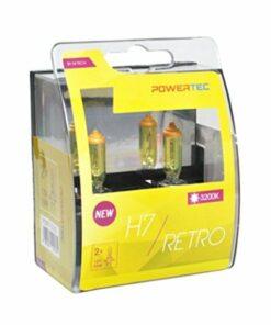 Lâmpada para Automóveis M-Tech PTZRT7-DUO H7 12V 55W 3200K Retro Gold
