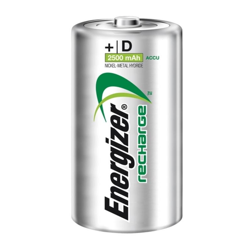 Pilhas Recarregáveis Energizer ENRD2500P2 HR20 D2 2500 mAh