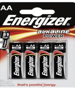Pilhas Alcalinas Energizer E300132900 AA LR6 (4 uds)
