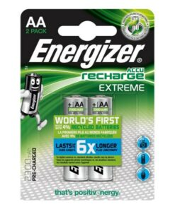 Pilhas Recarregáveis Energizer HR6 BL2 2300mAh (2 pcs)