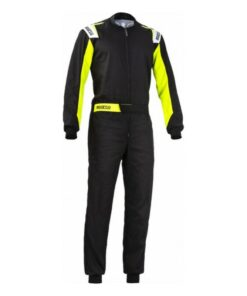 Fato de Karting Sparco Rookie Amarelo Preto (Tamanho XL)
