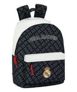 Mochila para notebook Real Madrid C.F. 14,1'' Branco Preto