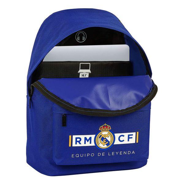 Mochila para notebook Real Madrid C.F. 14,1'' Azul