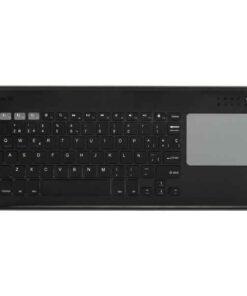 Teclado Silver Electronics Touchpad Preto