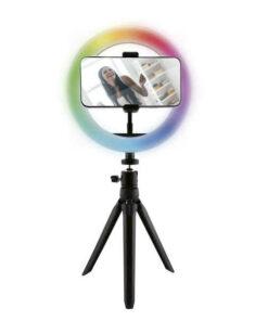Arco de Luz Recarregável para Selfies KSIX Smartphone 12W
