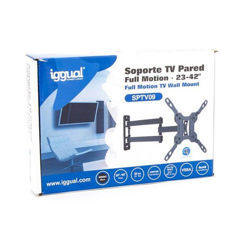 "Suporte TV iggual SPTV09 IGG314562 23""-42"" Preto"