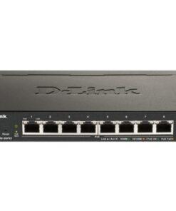 Switch D-Link DGS-1100-08PV2 8xGbE PoE