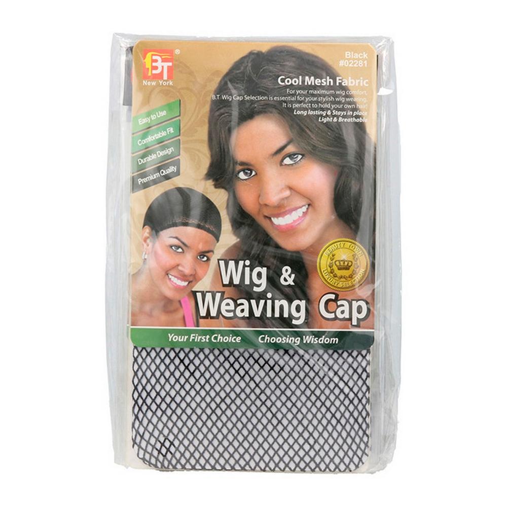 Touca para peruca Beauty Town Wig Preto