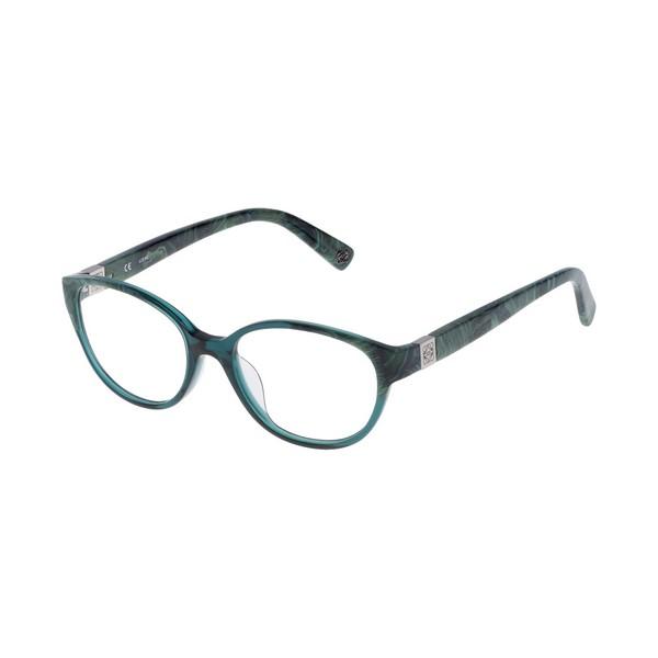 Armação de Óculos Feminino Loewe VLW920500860 Verde (ø 50 mm)