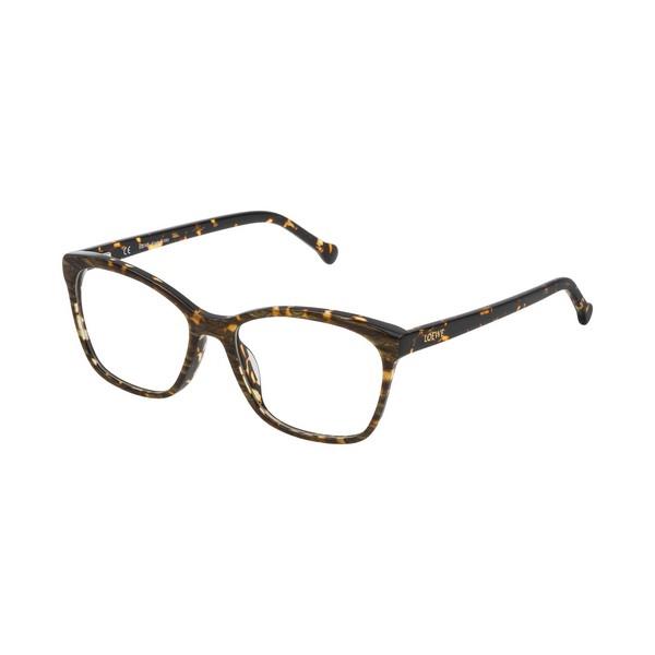 Armação de Óculos Feminino Loewe VLWA07M5309YC Castanho (ø 53 mm)