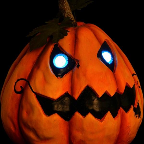 Decoração para Halloween DKD Home Decor Fibra de Vidro Abóbora (25 x 26 x 28 cm)