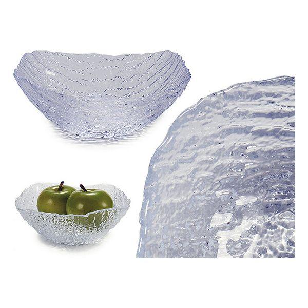 Fruteira Vivalto Anna Transparente Vidro 1000 ml (19 x 6 x 18,5 cm)