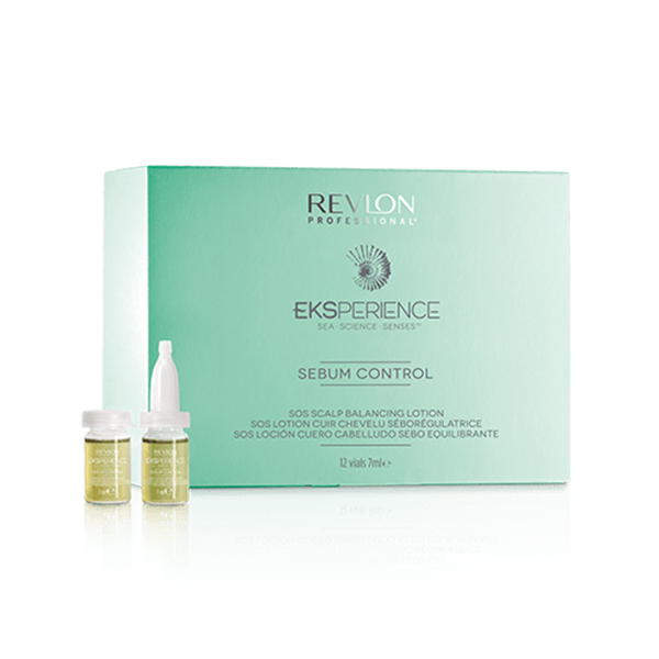 Tratamento Capilar Seborregulador Eksperience Revlon (12 pcs)