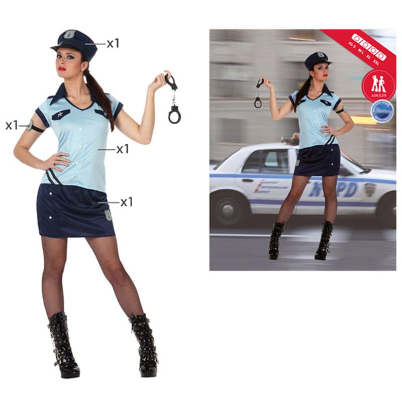 Fantasia para Adultos Th3 Party 2786 (XL) Polícia Mulher