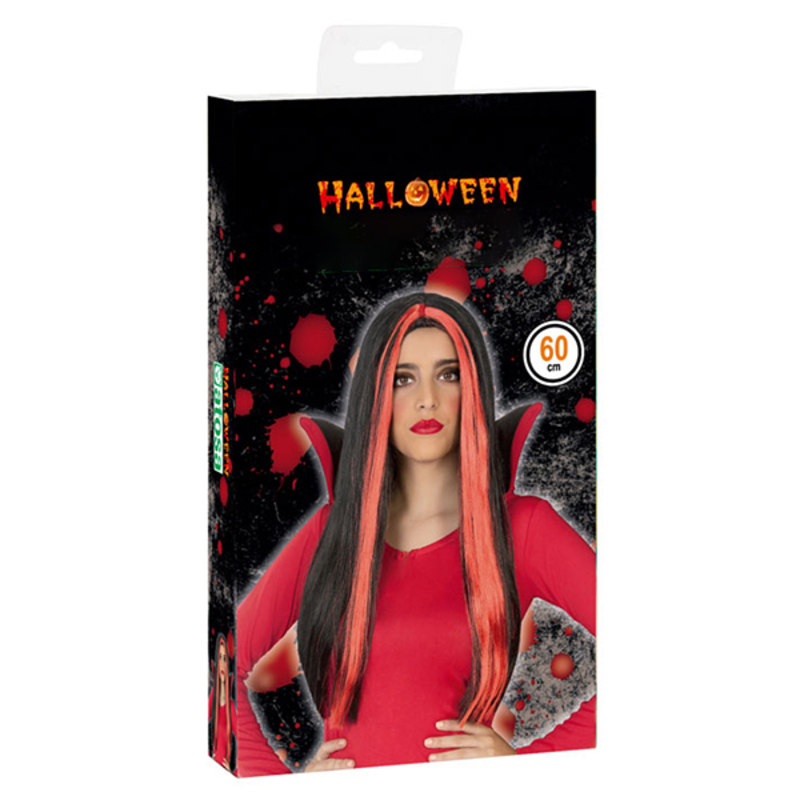 Peruca para Halloween Vermelho